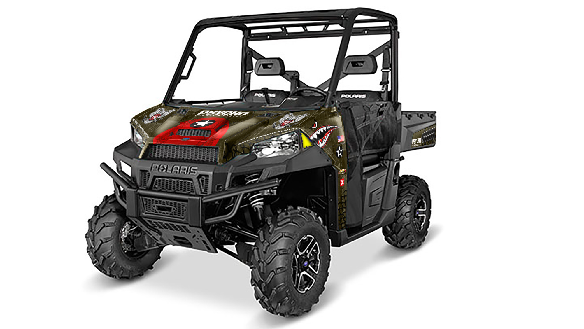 utv side by side sled war hawk series psycho sports cartel. Black Bedroom Furniture Sets. Home Design Ideas