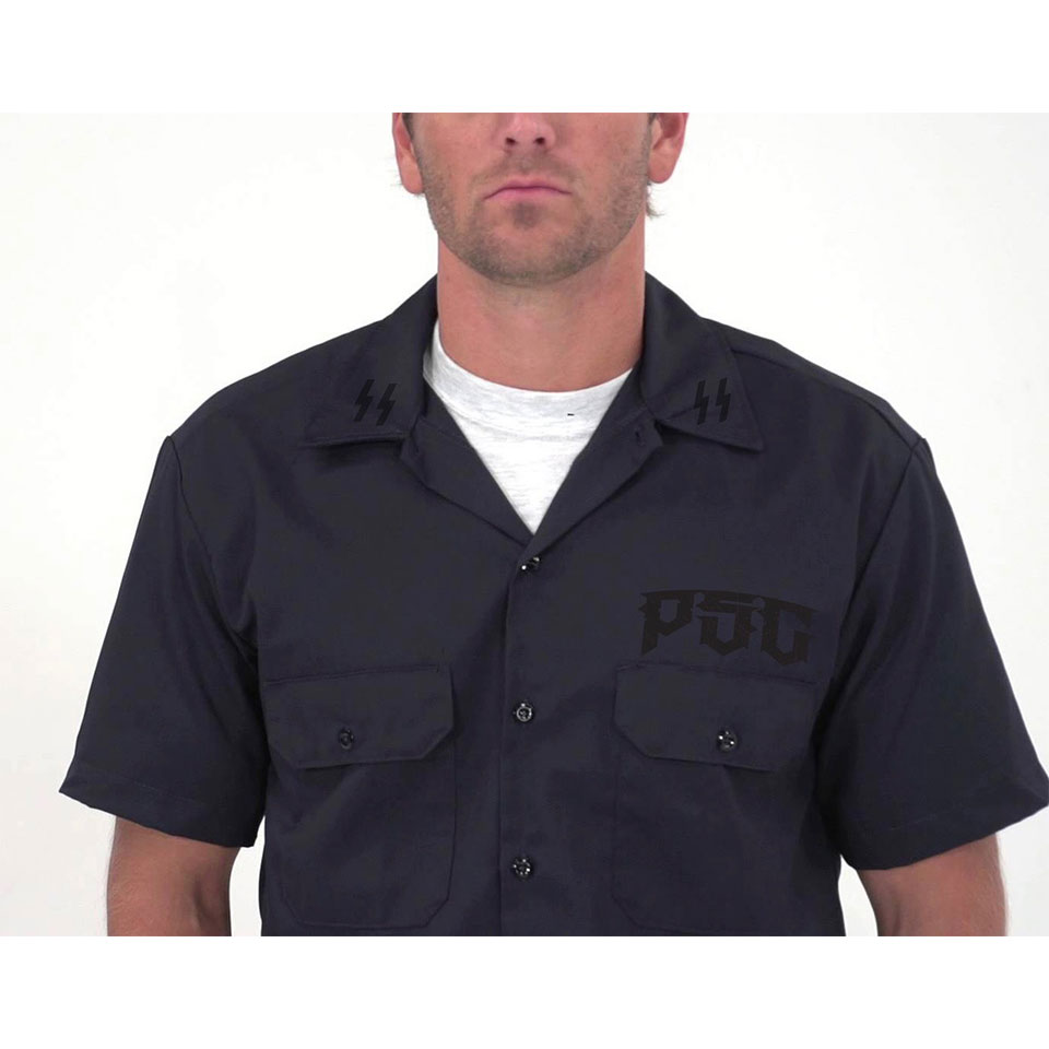 PSC DESTROYER SS  BUTTON UP / CHARCOAL