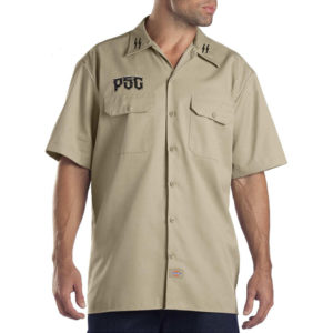 PSC DESTROYER SS BUTTON UP / TAN