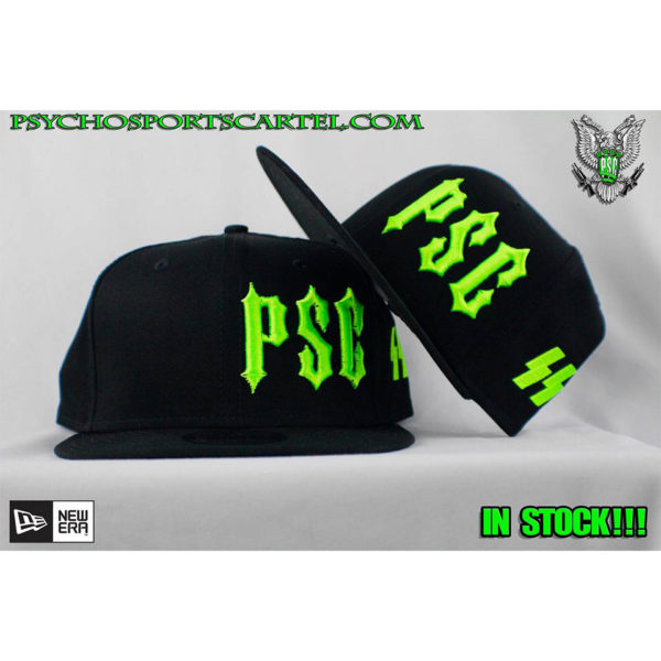 "PSC ""SS"" DEMON GREEN SNAP BACK"