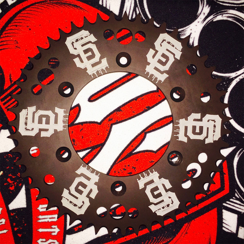 "PSC / ENSLOW SIGNATURE ""SF"" SPROCKET"