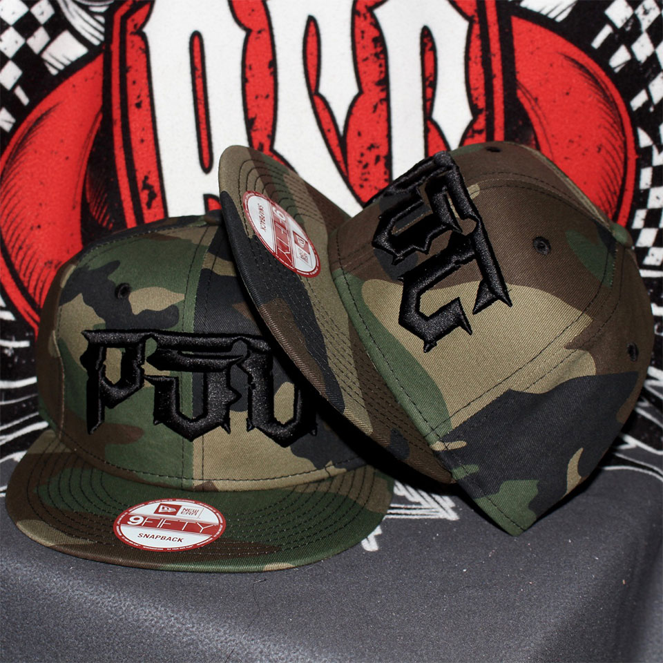 PSC DESTROYER SNAP BACK / CAMO-BLACK