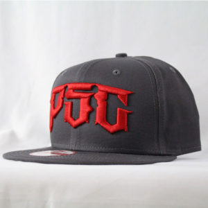 DESTROYER NEW ERA HAT , CHARCOAL - RED