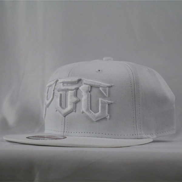 "PSC NEW ERA ""DESTROYER"" SNAP BACK HAT WHT/WHT"