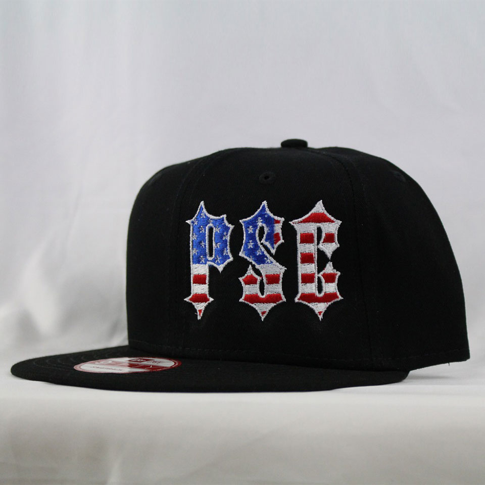 "NEW ERA ""MERICA"" SNAP BACK HAT BLK"