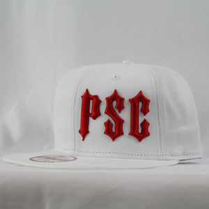 PSC OFFSET SNAP BACK WHITE / RED
