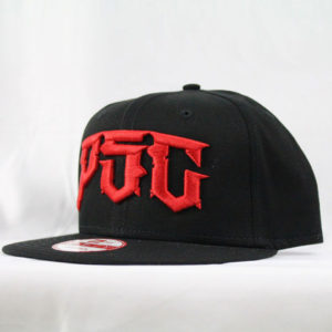 "PSC ""DESTROYER"" NEW ERA SNAP BACK HAT / RED"