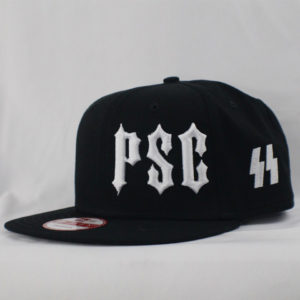"PSC SS ""MEMBERS ONLY"" SNAP BACK HAT BLK / WHT"