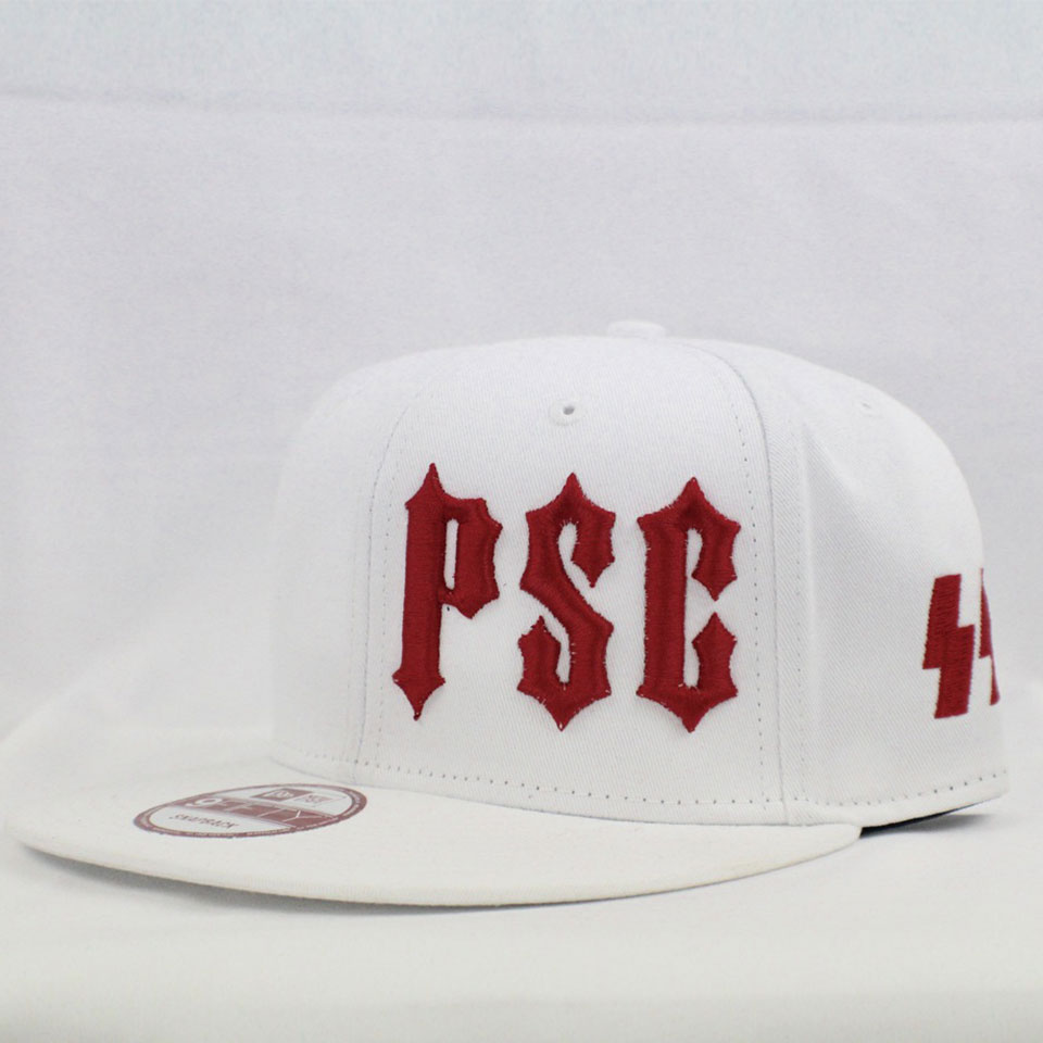 "PSC SS ""MEMBERS ONLY"" SNAP BACK HAT WHITE / RED"