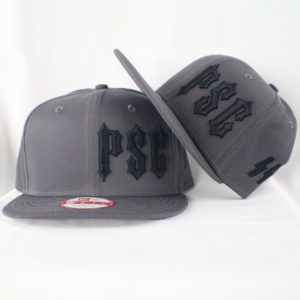 "PSC SS ""MEMBERS ONLY"" SNAP BACK HAT GREY"