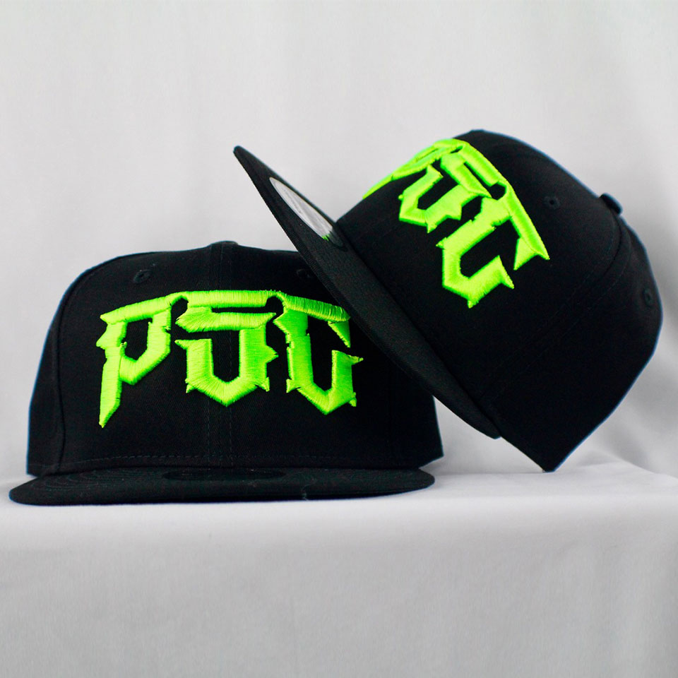 "PSC ""DESTROYER"" SNAP BACK  BLK / GREEN"