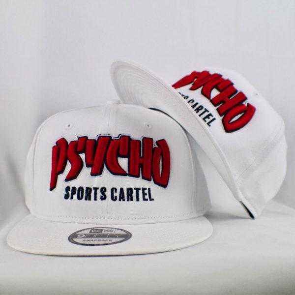 THRASHER HAT WHITE / RED
