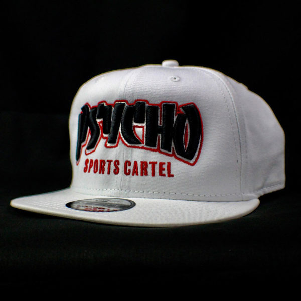 THRASHER HAT WHITE / BLK - RED