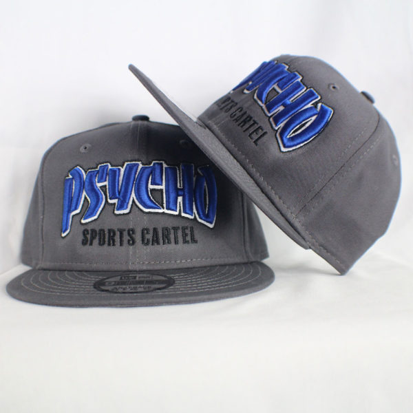 THRASHER HAT BLUE / GREY
