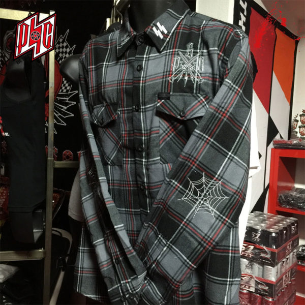 "PREMIUM ""SS"" DEMON FLANEL / GREY"