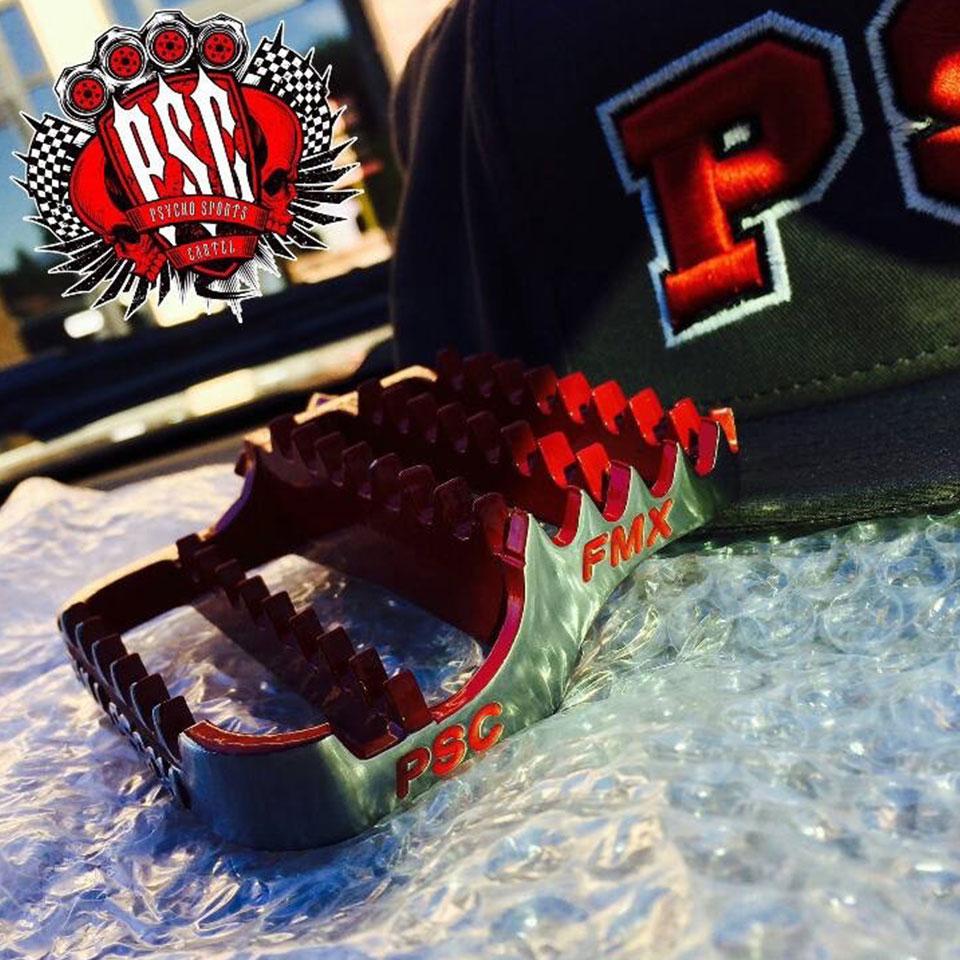 PSC FMX / FULL PERCH FOOTPEGS